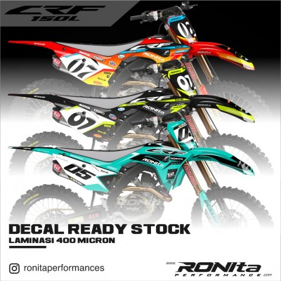 Decal 400 Micron Honda CRF 150L