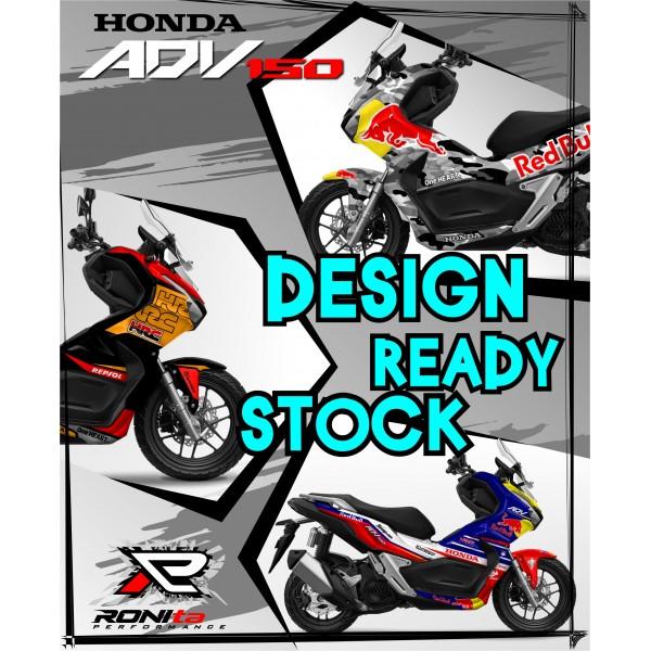 Decal Fullbody Honda ADV 150