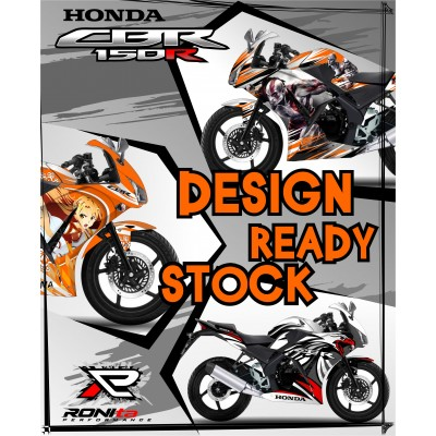 Decal Fullbody Honda CBR 150R Lokal (K45)