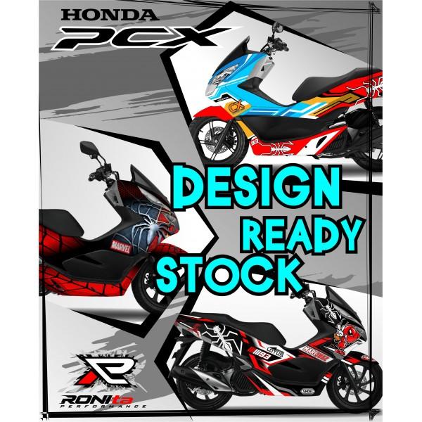 Decal Fullbody Honda PCX