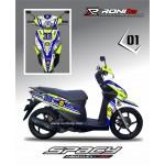 Decal Fullbody Honda Spacy
