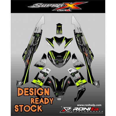 Decal Fullbody Honda Supra X 125R