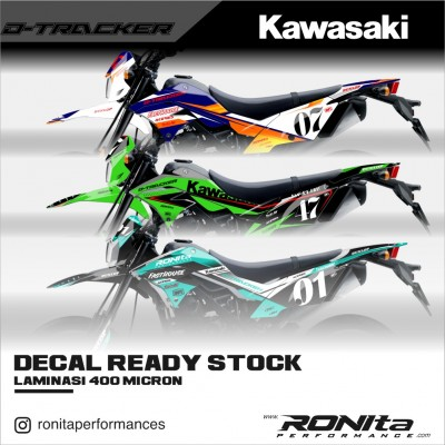 Decal 400 Micron Kawasaki D-Tracker 150