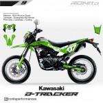 Decal 400 Micron Kawasaki D-Tracker 150