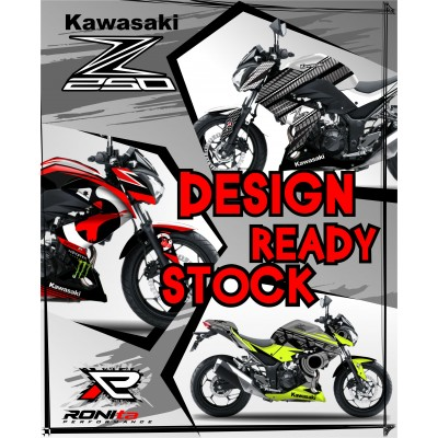Decal Fullbody Kawasaki Z250