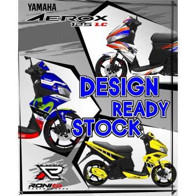 Decal Fullbody Yamaha Aerox 125