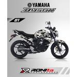 Decal Fullbody Yamaha Byson