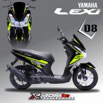 Decal Fullbody Yamaha Lexi
