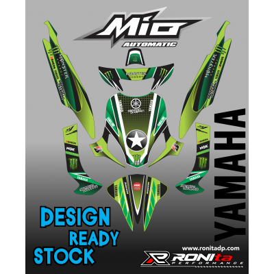Decal Fullbody Yamaha Mio Sporty