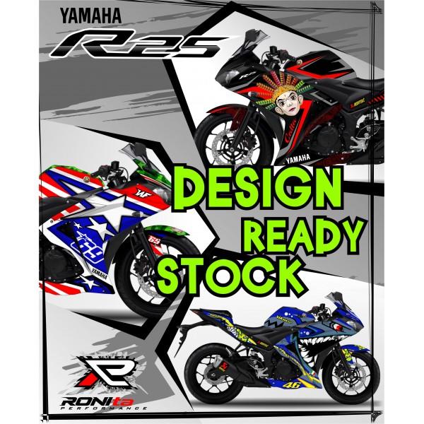 Decal Fullbody Yamaha R25