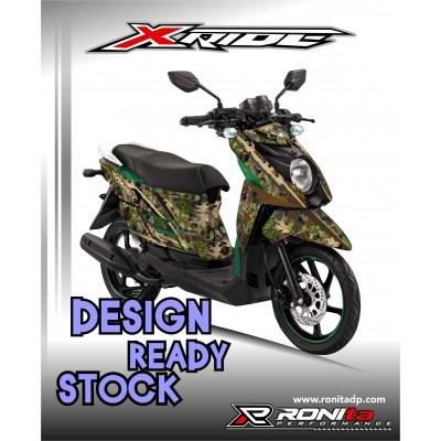 Decal Fullbody Yamaha X-Ride