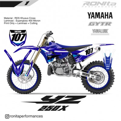 Decal 400 Micron Yamaha YZ 250 X 2018