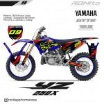 Decal 400 Micron Yamaha YZ 250 X 2018