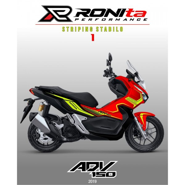 Striping Stabilo Honda ADV 150