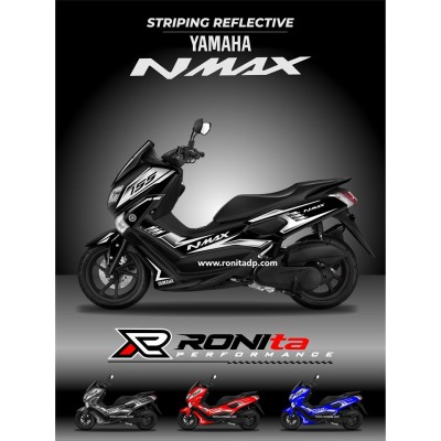 Striping Reflective Yamaha NMAX 155