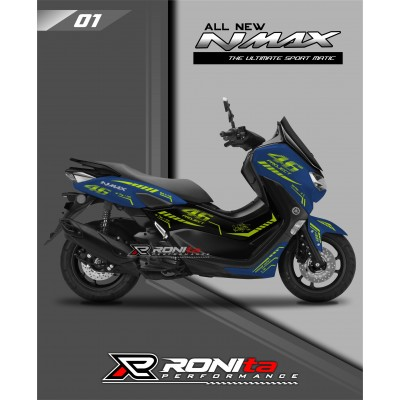 Striping Stabilo Yamaha All New NMAX 155