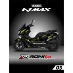 Striping Stabilo Yamaha NMAX 150