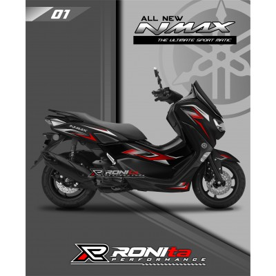 Striping Transparan Premium Yamaha All New NMAX 155