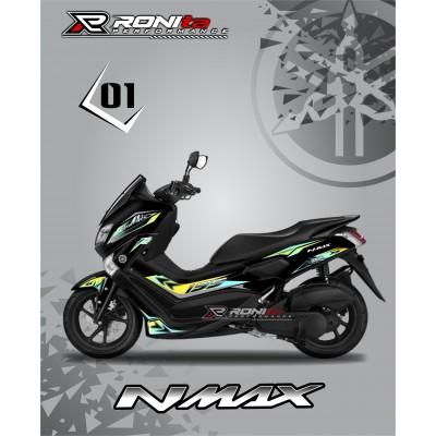 Striping Transparan Premium Yamaha NMAX 155